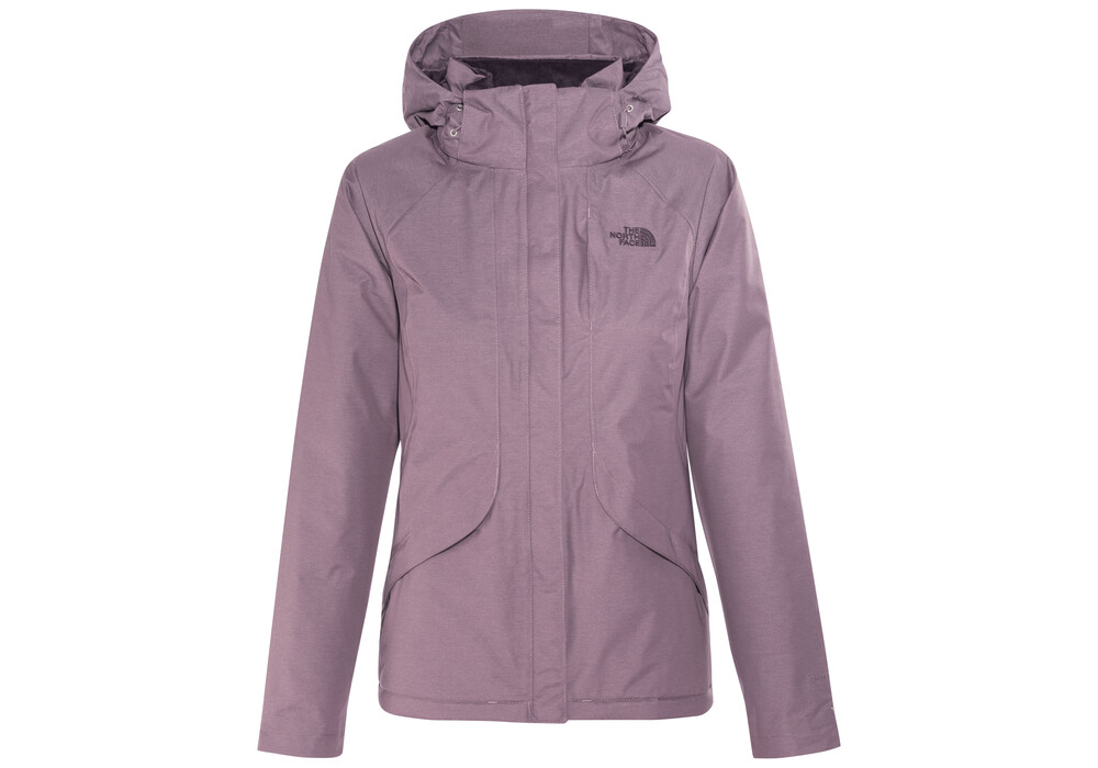 The North Face Inlux Insulated Jacket Women Black Plum